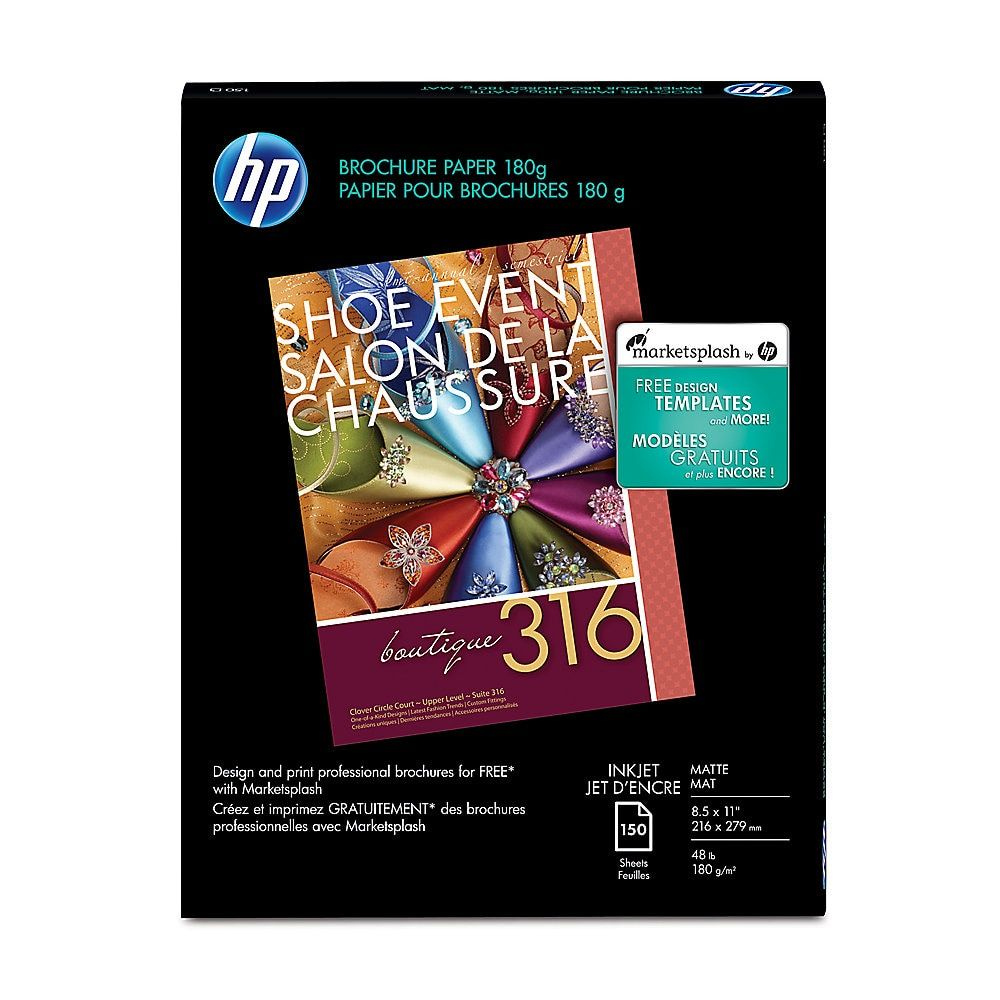 HP Professional Business Paper for Inkjet Printers, Matte