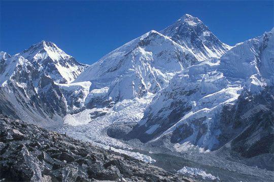 Mt. everest Basecamp (Qomolangma) in Everest
