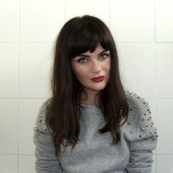 Perfect Hair For Me Pinterest Hair Hairstyles With Bangs And
