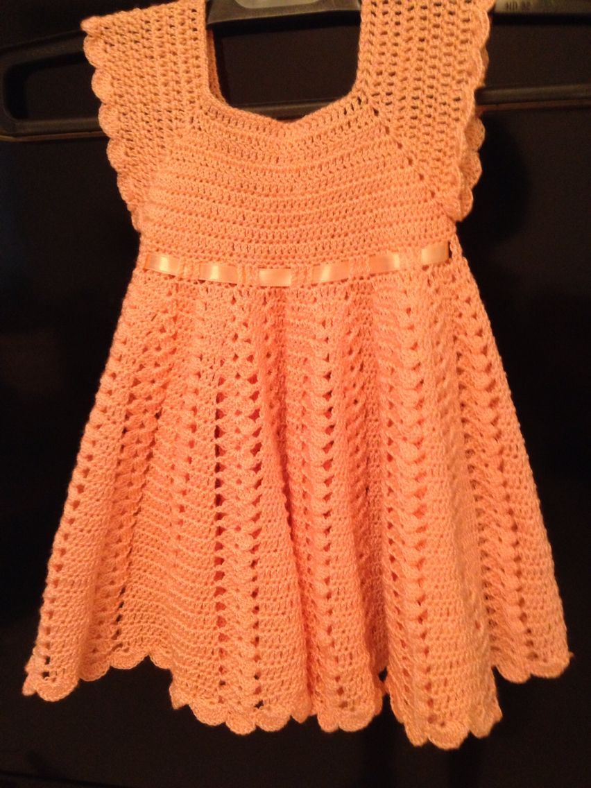 Cute orange dress for girl 18 months / jolie robe orange pour ...