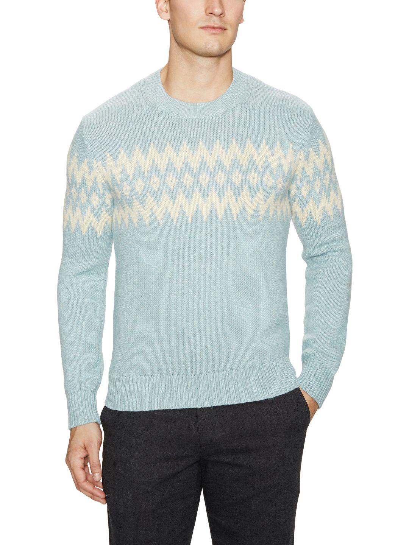Frosty Jacquard Sweater