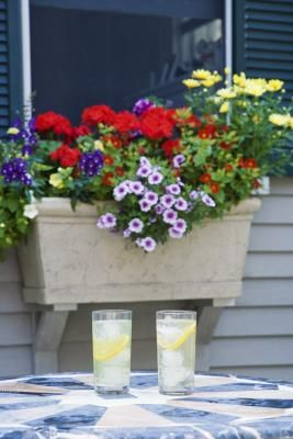 How To Hang A Window Box On Vinyl Siding Yard Window