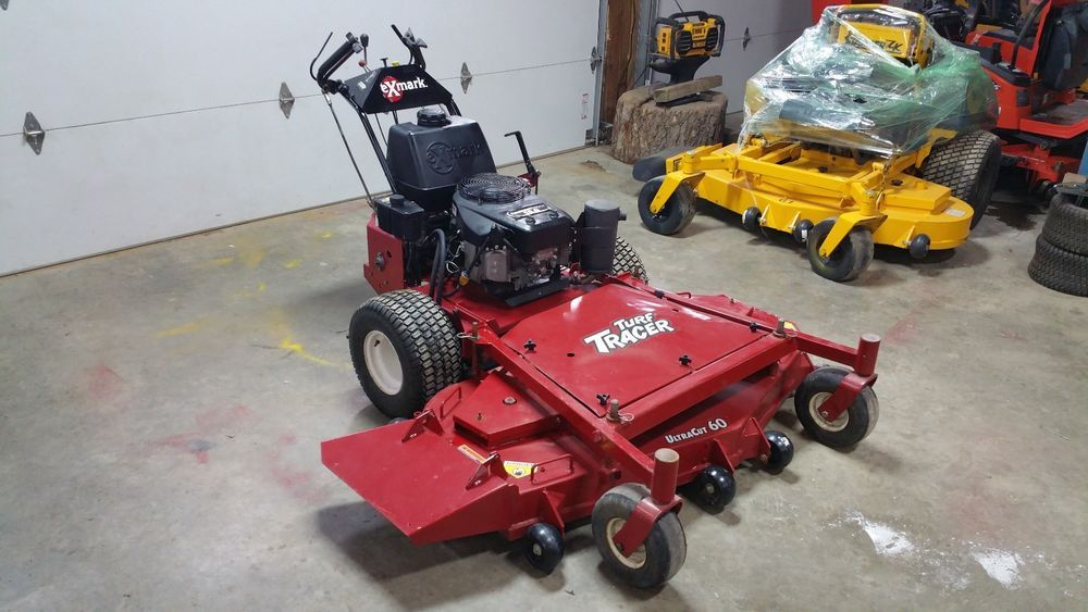 Exmark Turf Tracer 60 Walk Behind Commercial Zero Turn Hydro Lawn Mower Kawasaki Lawn Mower Mower Zero Turn Mowers