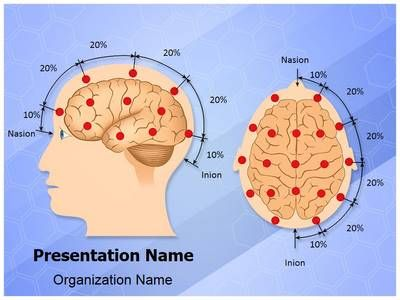 Eeg Electrode Placement Powerpoint Template Is One Of The Best