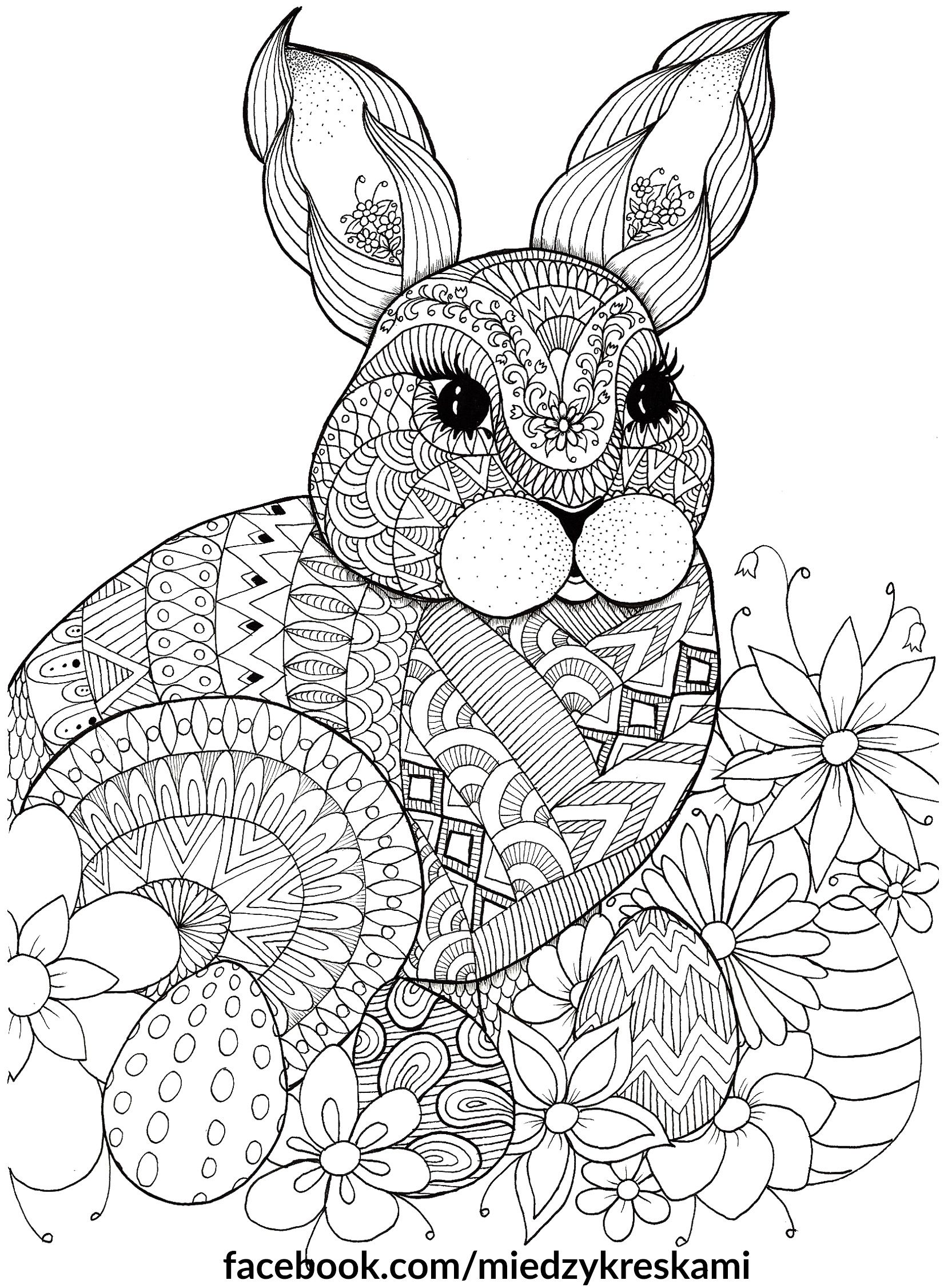 Easter Bunny Spring Coloring Pages Mandala Coloring Pages Easter Coloring Pages