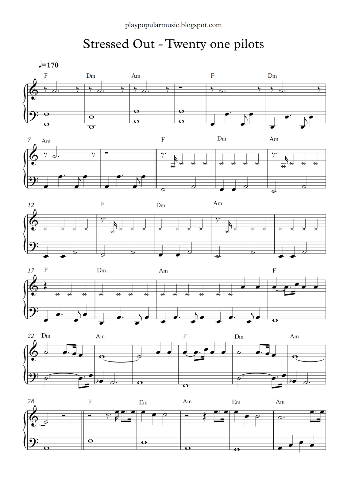 Free Piano Sheet Music Stressed Out Twenty One Pilots Pdf We Used To Play Pretend Give Ea Twenty One Pilots Songs Cello Sheet Music Twenty One Pilots