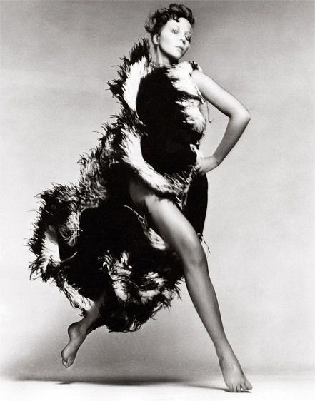 Richard Avedon - Penelope Tree, dress by Lanvin, 1968