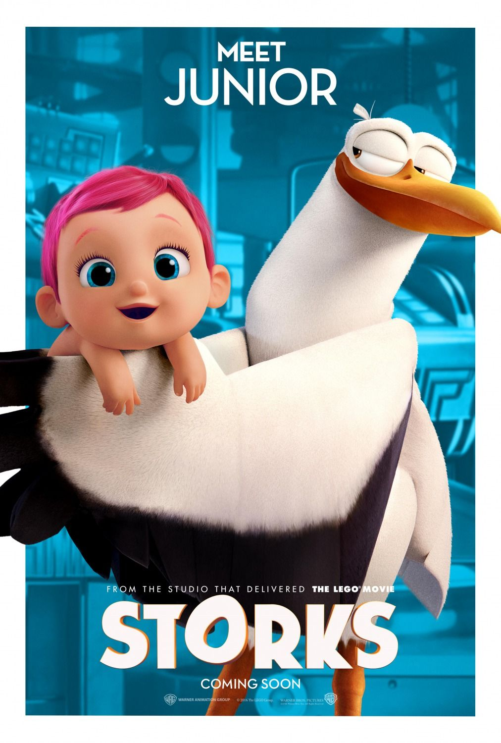 Poster From The Film Storks Stork Animated Movie Posters Images, Photos, Reviews