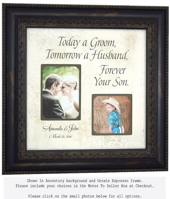 Personalized Picture Frames, PARENTS THANK YOU Personalized Picture ...