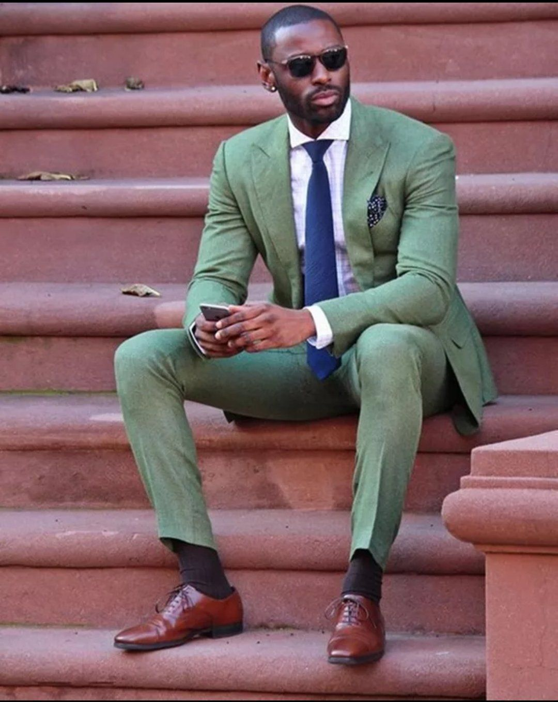 MSA Signature Business Suit Slim Fit Wedding suits men