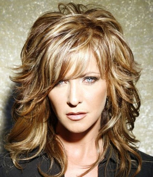 Layered Hairstyles Women Over 40 Layered Hairstyles Medium Layered Hairstyles For W Wavy Mid Length Hair Shoulder Length Hair Styles For Women Hair Lengths