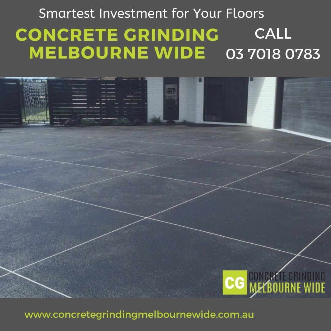 We are able to enhance your old concrete flooring into an
