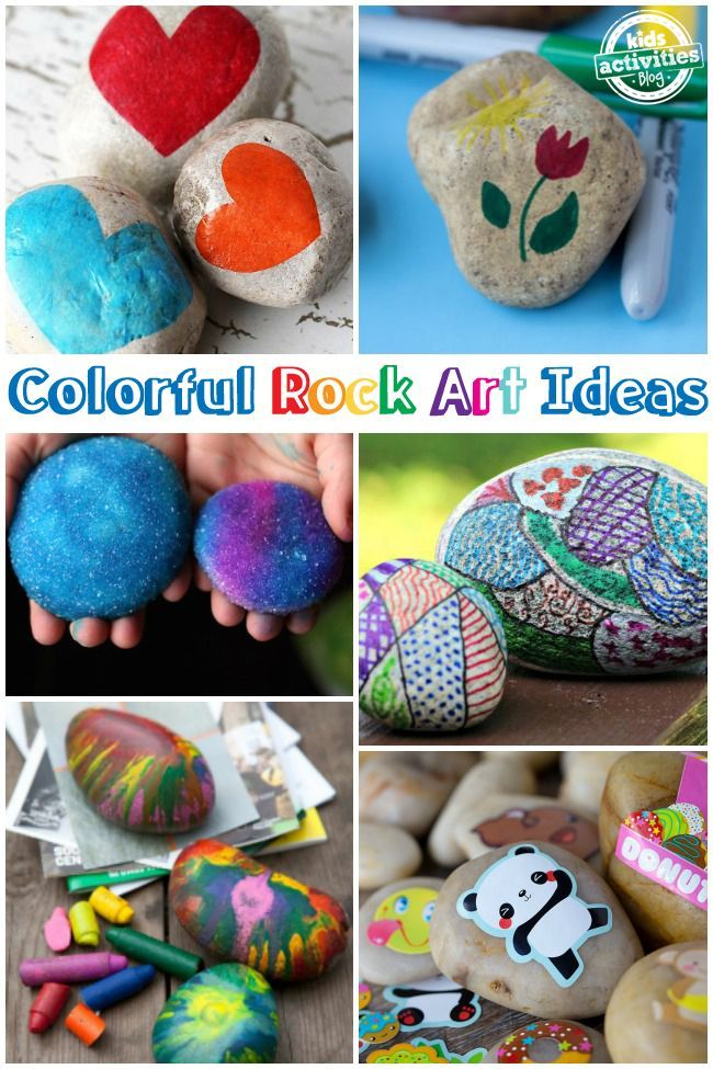 Fall Painted Rocks Enhancing Decorating Ideas With Leaves On ...