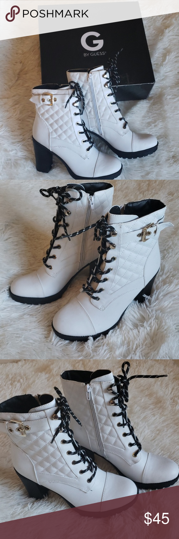 Guess Combat Ankle Boots | Boots, Ankle