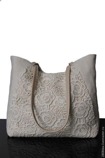 8dd757dcc30b Женские сумки ручной работы. Ярмарка Мастеров - ручная работа. Купить  Летняя сумка, светлая