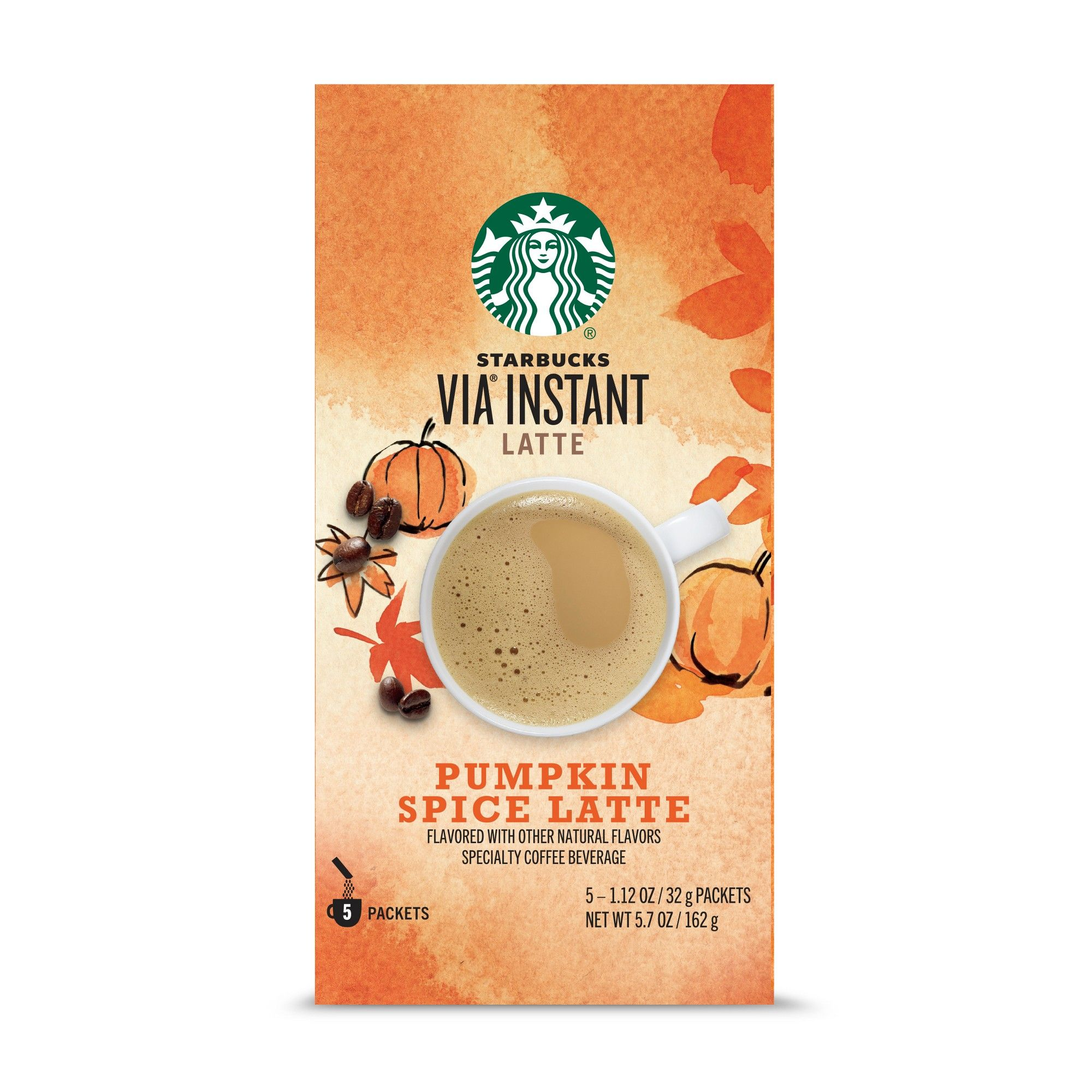 Starbucks VIA Instant Pumpkin Spice Latte Medium Roast