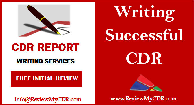 Cdr Writing For Engineers Australia Competency Demonstration