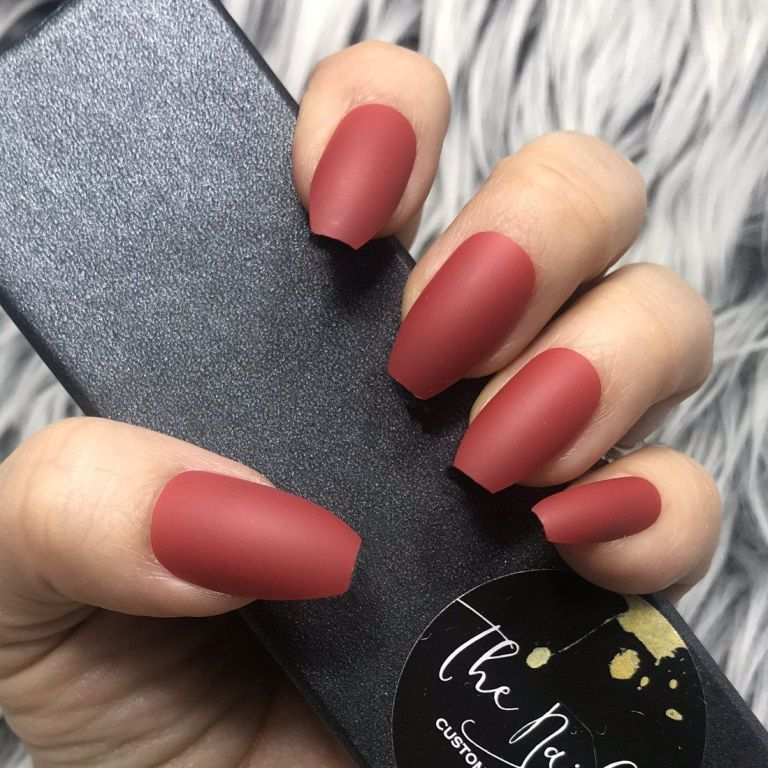 The Do S And Don Ts Of Dark Red Acrylic Nails Short Square Bloggerathome Com Red Acrylic Nails Short Acrylic Nails Nails