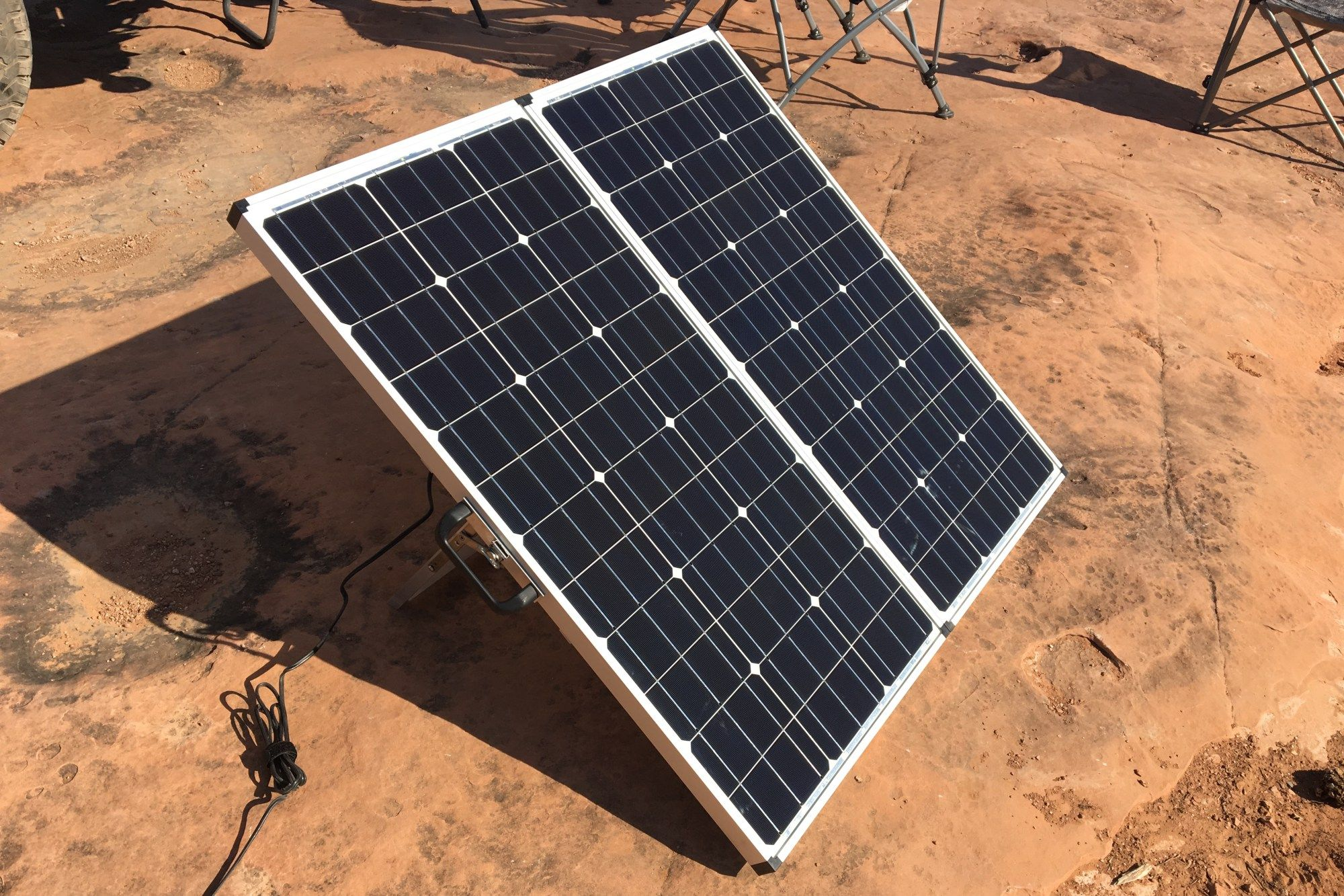 Installation Of Zamp Solar S Sidewall Charge Port Slide In Truck Campers 100 Watt Solar Panel Portable Solar Panels