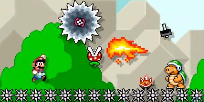 Bug en el Super Mario Maker vuelve invencible al plomero http://j.mp/1NReRYo |  #Mario, #Nintendo, #SuperMarioMaker, #Videojuegos, #WiiU