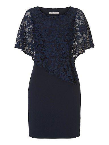Betty Barclay Kleid mit Spitzendetail | Kleider, Kleider ...
