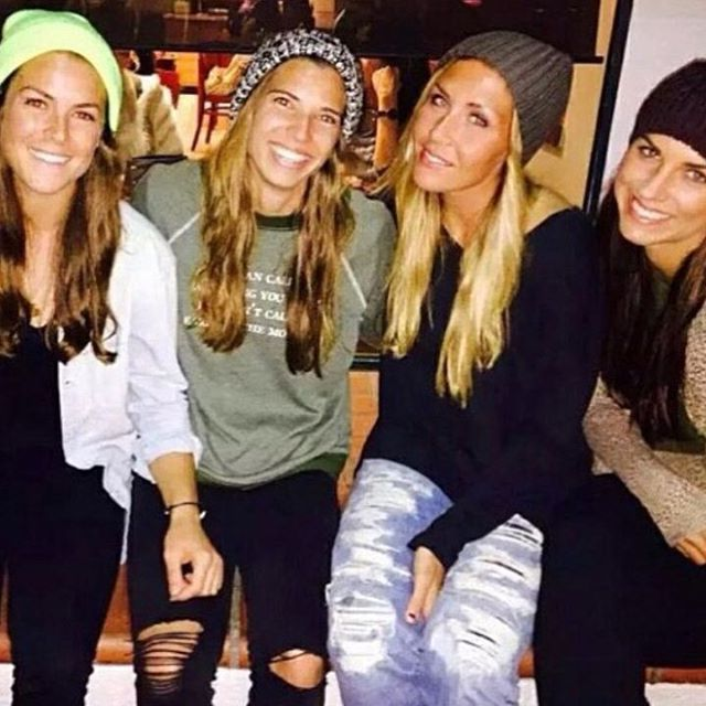 Tobin Heath Alex Morgan Kelley Ohara Allie Long Us Womens