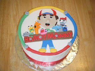 Handy Manny   Handy manny, Cake, Birthday bash