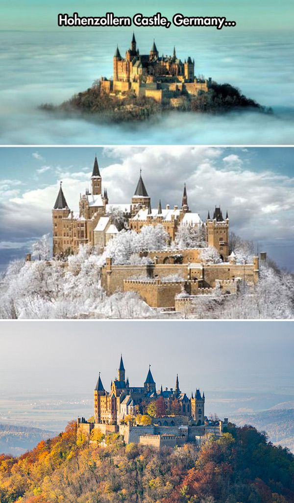 The Lightness Of Travel Hohenzollern Castle Beautiful Castles Germany Castles