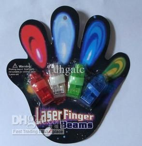 Wholesale Led Finger - Buy Sample Order LED Light Laser Finger Beams Ring Blister Card Finger Light Toys $0.28 | DHgate