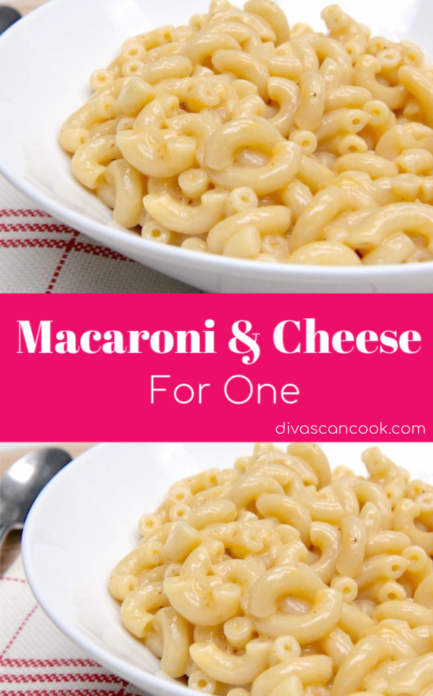 Homemade Single Serve Macaroni And Cheese Recipe Easy Lunch