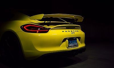 2016 Cayman Gt4 In Racing Yellow With Light Weight Sport