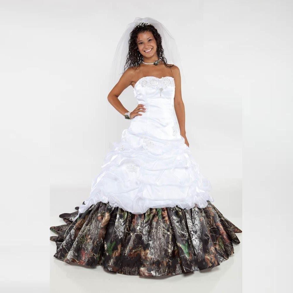 Pin by jessica reber on wedding dresses pinterest camo wedding