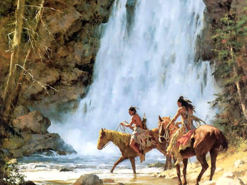 By Howard Terpning Inter Of The Plain S Native
