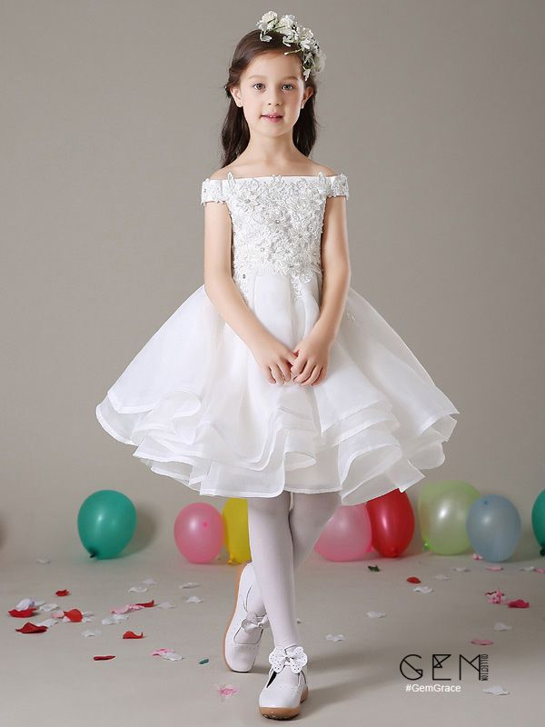 Off White Tutu-Off White Wedding Girl Dress-Off White Tulle Dress-Off White Flower Girl Dress-Off White Toddler Dress-Off White Girl Dress.
