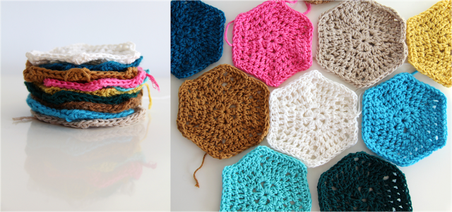 creJJtion: Crochet hexagon tutorial