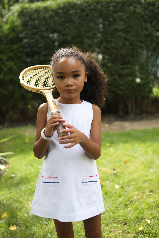 Piper Tennis Dress Bright White Tennis Dress American Preppy Tennis Clothes [ 3000 x 2000 Pixel ]