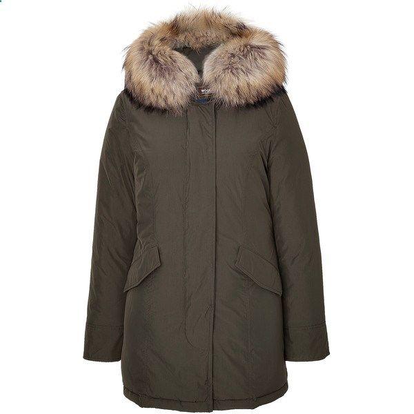 Woolrich Womens Luxury Arctic Parka With Fur Trim Clothes Design Fashion Ootd Fashion