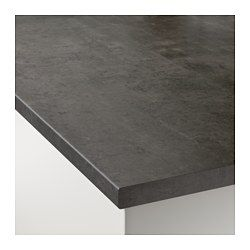 Ekbacken Countertop Concrete Effect Laminate 98x1 1 8 Ikea Laminate Countertops Countertops Kitchen Countertops Laminate