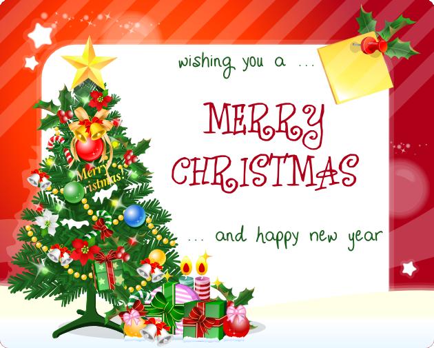 FREE Christmas Card Printable Print christmas card