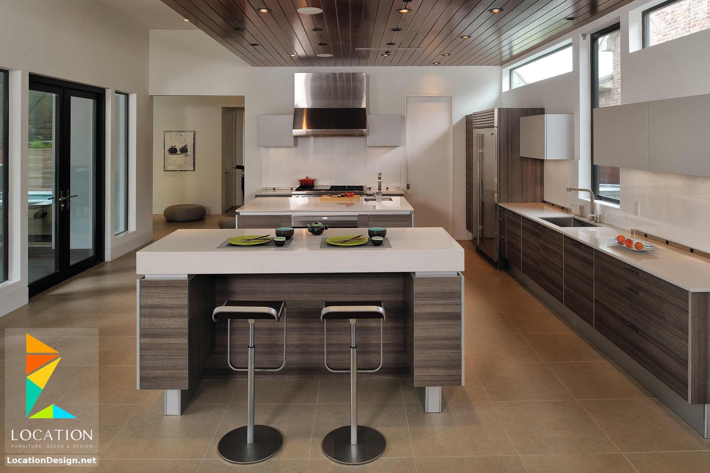 ديكورات مطابخ مودرن صغيرة 2019 2020 Kitchen Design Trends Luxury Kitchen Design Kitchen Flooring Trends