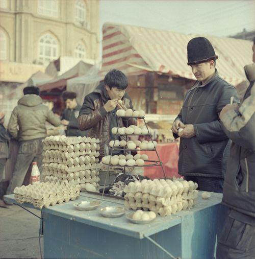 Kashgar, China: winter 2013