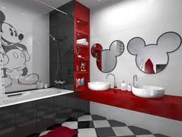 Creative Ways You Can Improve Your Mickey Mouse Bathroom Ideas Collection Accessories