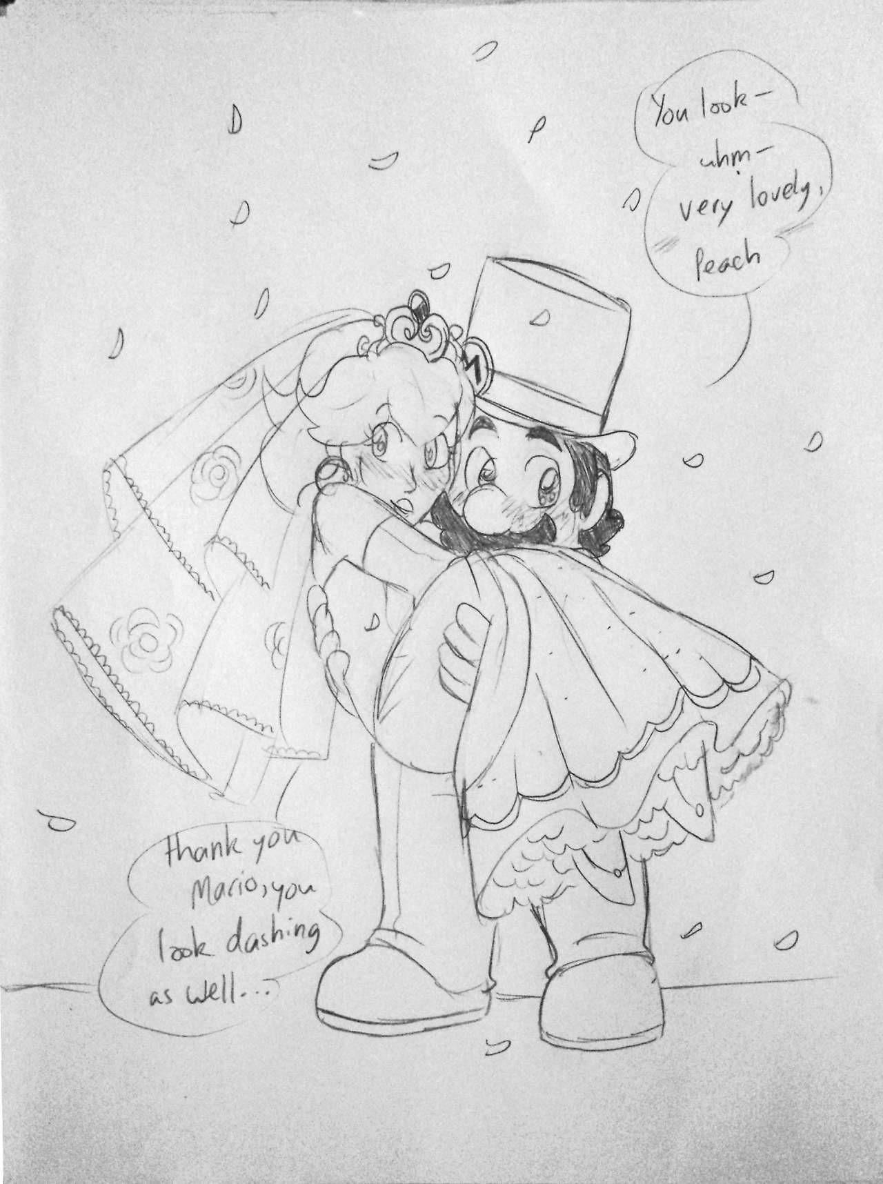 Thank You Very Much Nintendo Mario X Princess Peach Pinterest