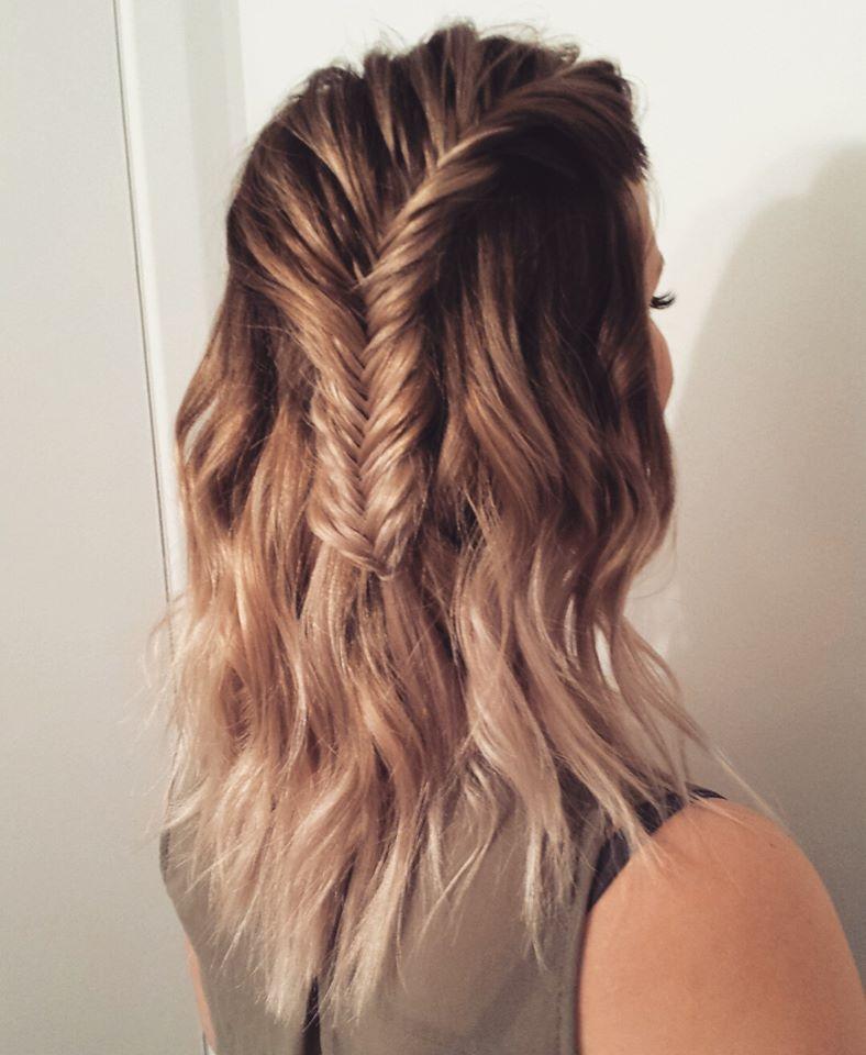 Fishtail Braid Fishtail Braid Hairstyles Fish Tail Braid Medium Hair Styles