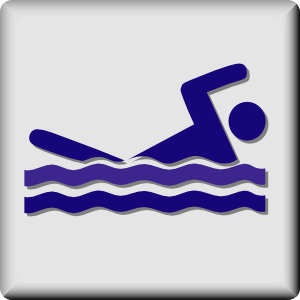 Hotel Icon Swimming Pool clip art - vector clip art online, royalty free & public domain