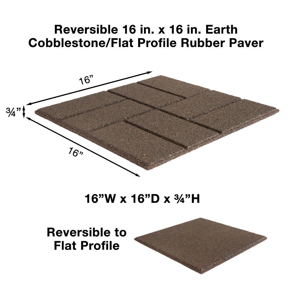 9 Diy Cool Creative Patio Flooring Ideas Rubber Paver Brick