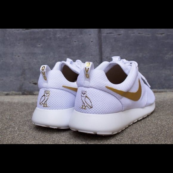 release date: 26cfd da9d4 OVO Nike Roshe Run 100% Authentic. Brand New! Customized. Nike Shoes  Sneakers