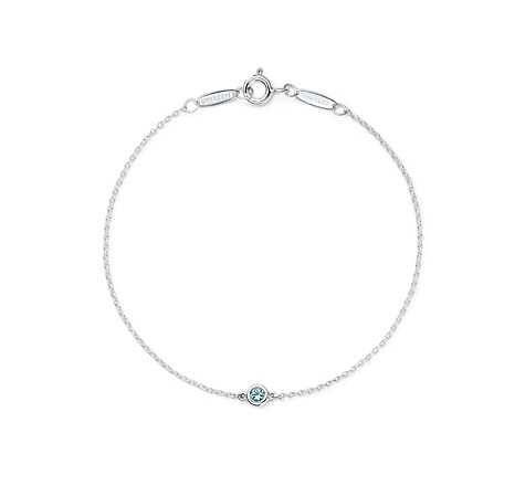 "Personal favourite    Tiffany & Co., Elsa Peretti ""Color by the Yard"" in Aquamarine"