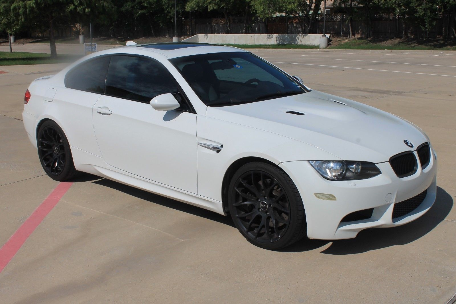 Bmw E92 M3 Black On Adv 1 Wheels With Images Bmw M3 Bmw Cool