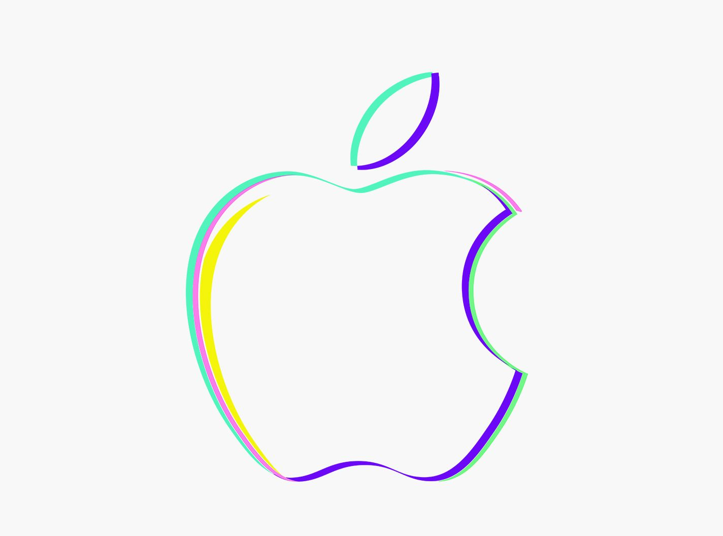 All Of The Apple Logos From The October 30th Event Invites Album On Imgur Apple Logo Design Apple Logo Event Invitation